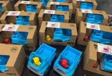 "Photo of Gift packages of ""Zanan Karavar Hoora"" for flooded people in Sistan-Baluchestan Province"