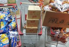 Photo of Preparation and distribution of snacks for children of covered families